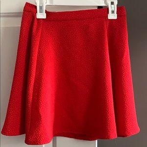 H&M Divided Skater Skirt High Waist